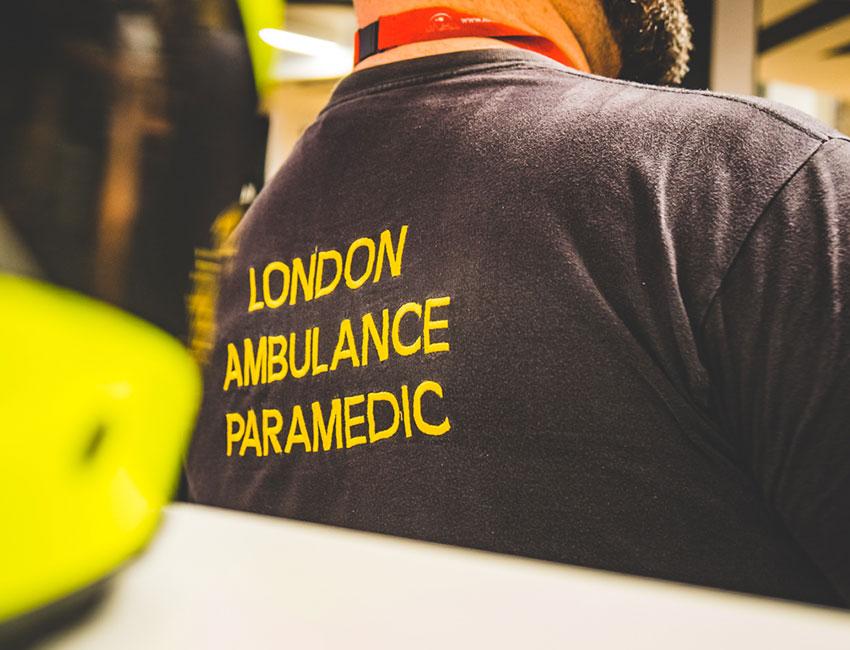 Raising money for Air Ambulance