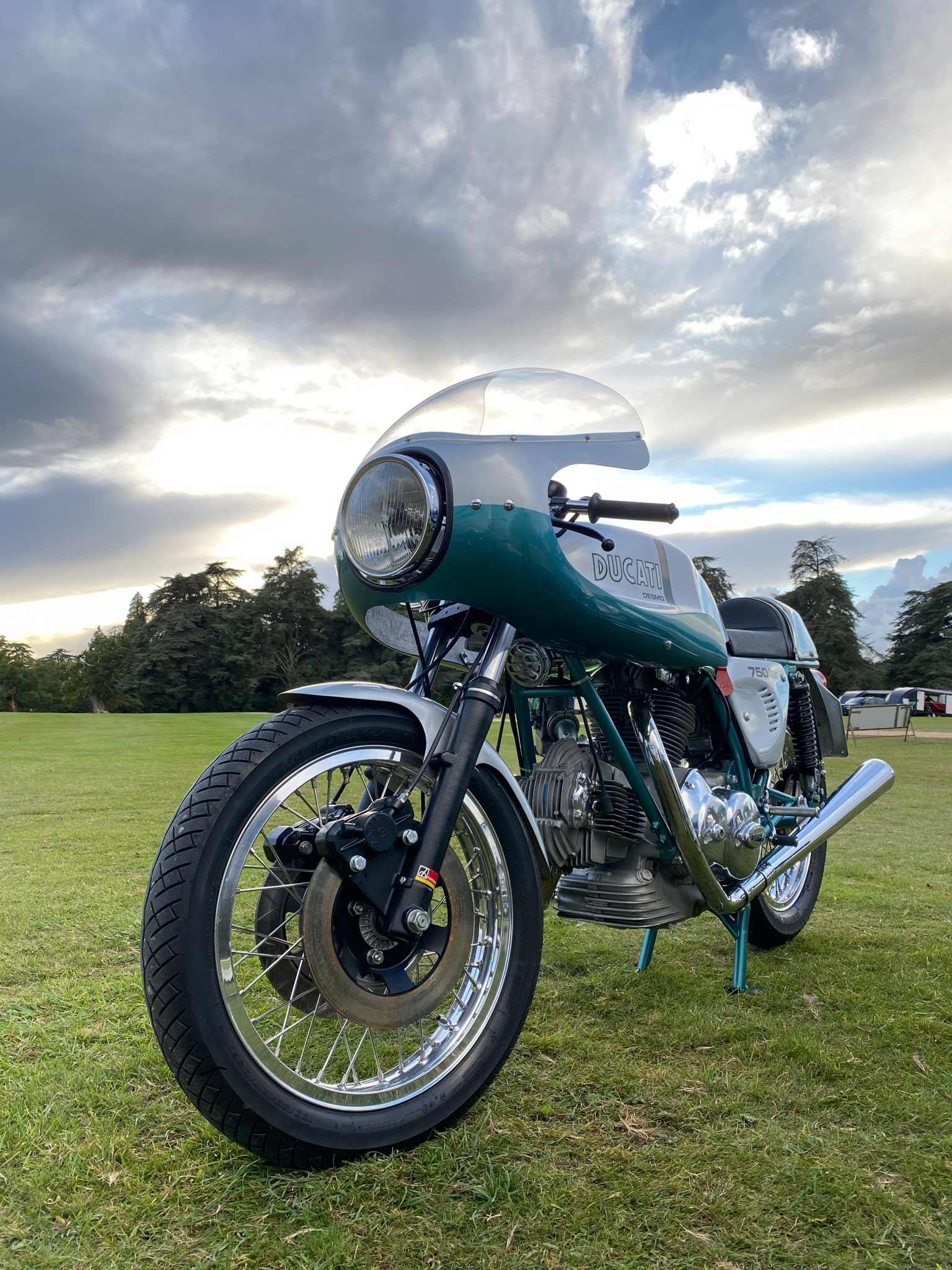 Ducati restoration specialist London
